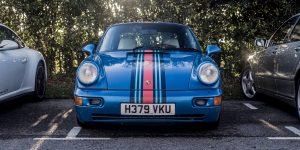 Martini striped Porsche 964