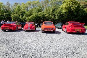 Porsche rear ends