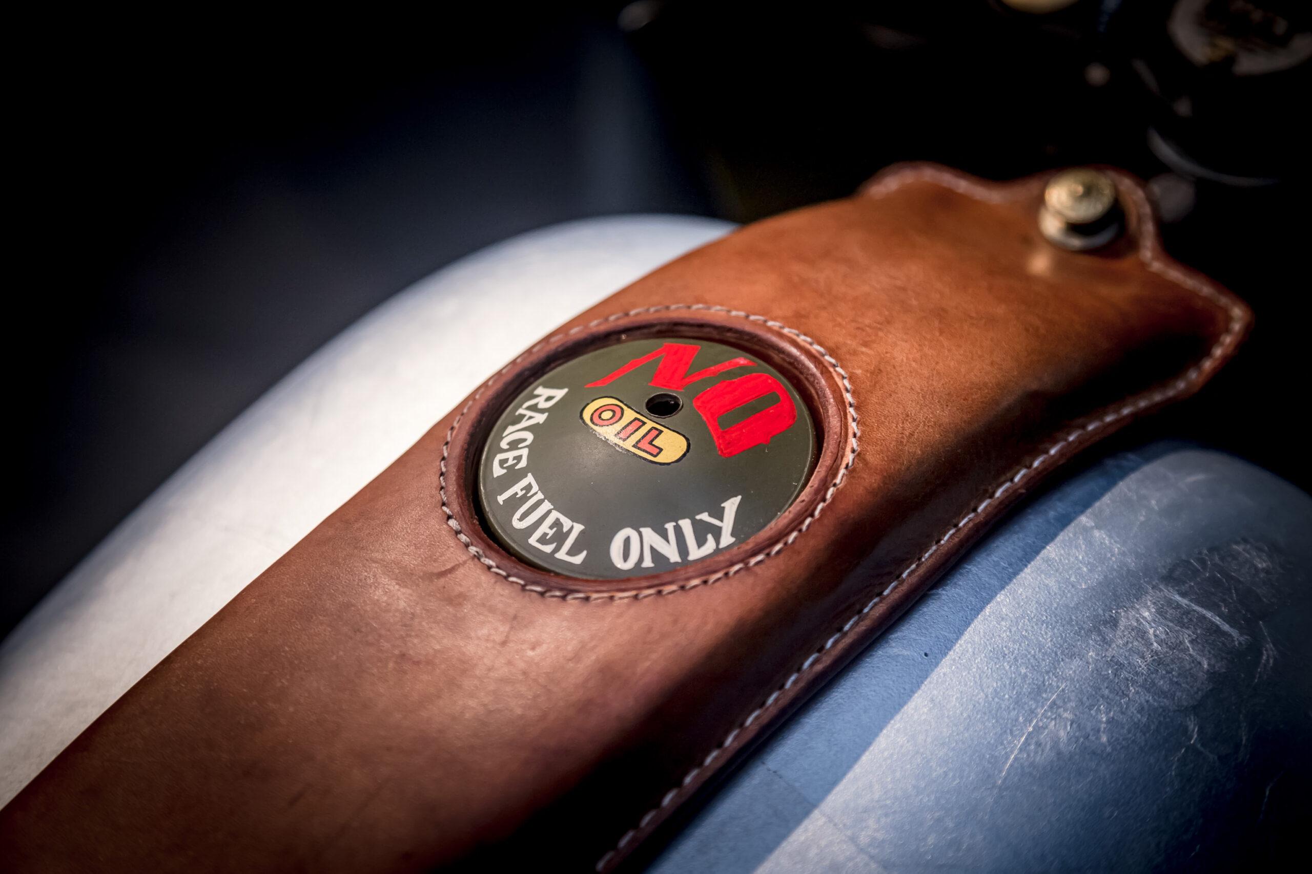 Harley Davidson petrol tank details