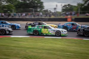 NASCAR racing at Brands Hatch
