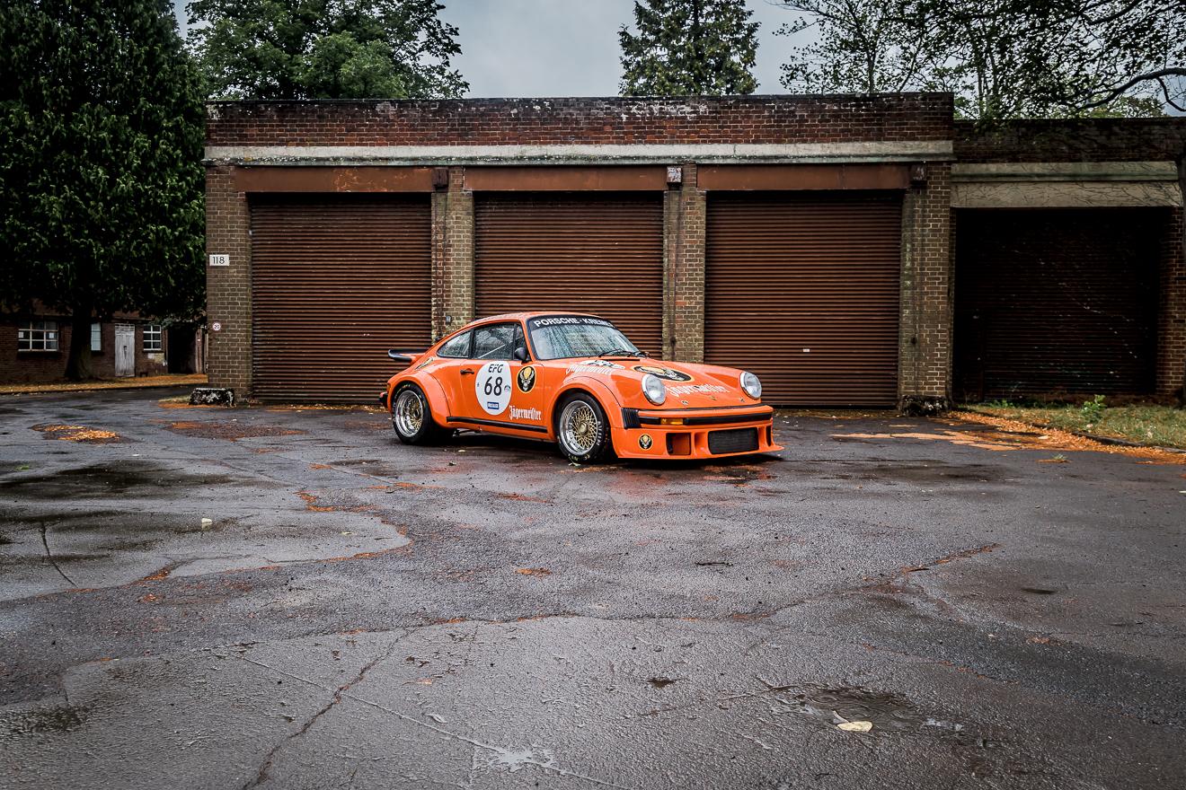 Orange Porsche Jägermeister 934
