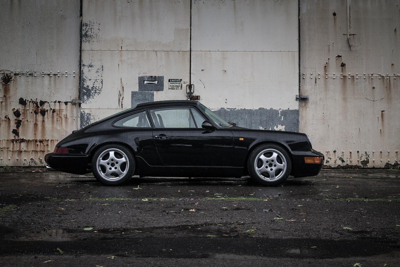Black Porsche 964