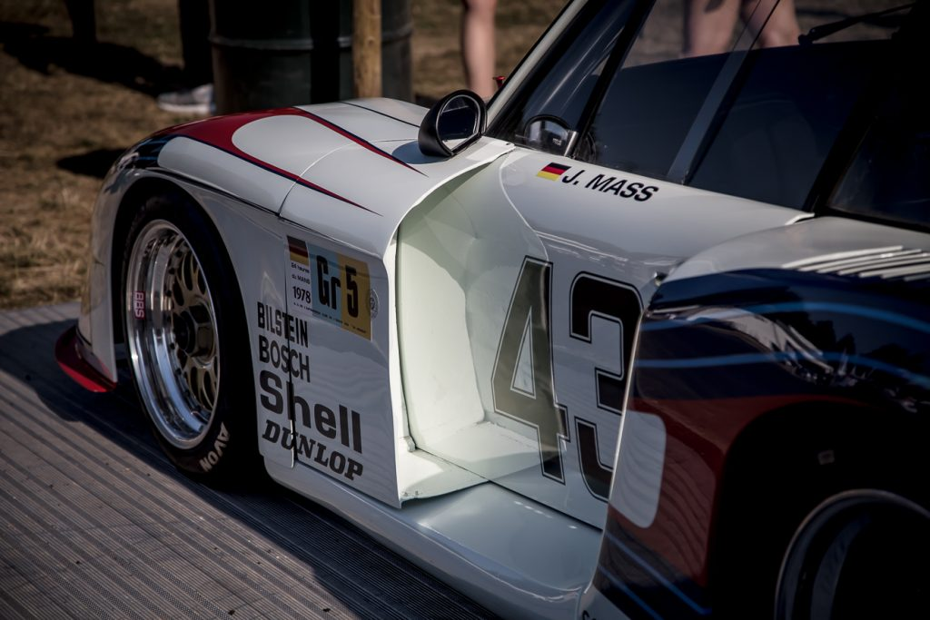 Porsche 935 exaggerated bodywork