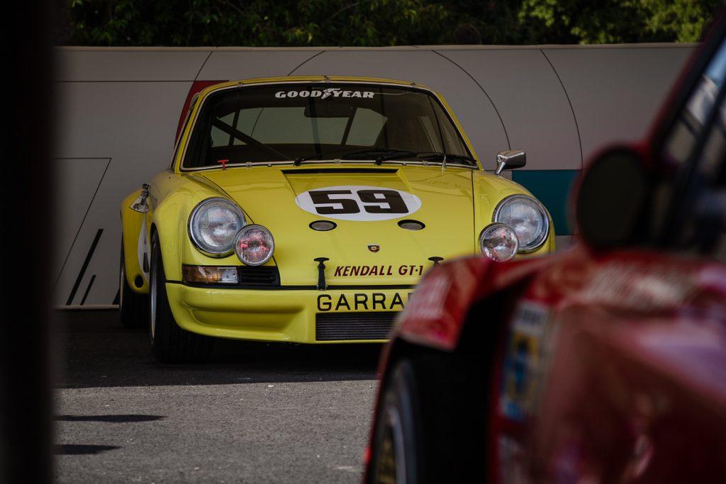 Yellow Porsche 911 RSR