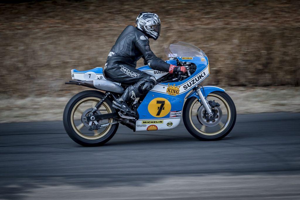 Barry Sheene's Suzuki XR14 RG500
