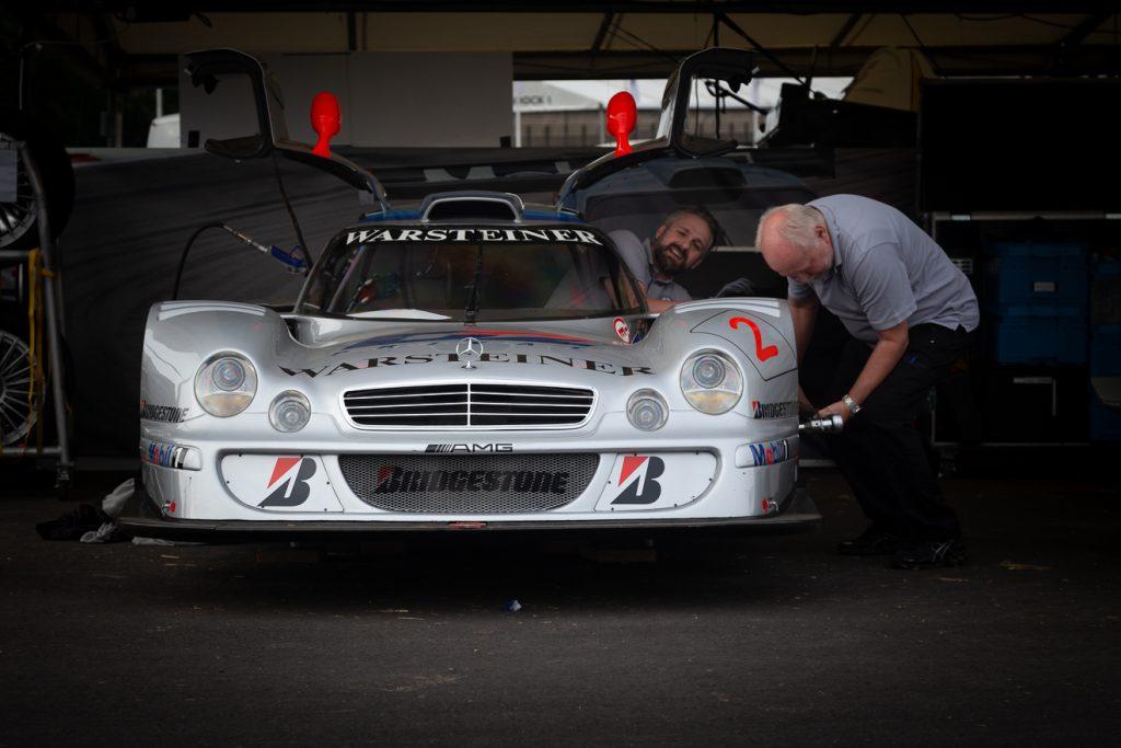 Mercedes CLK LM GTR