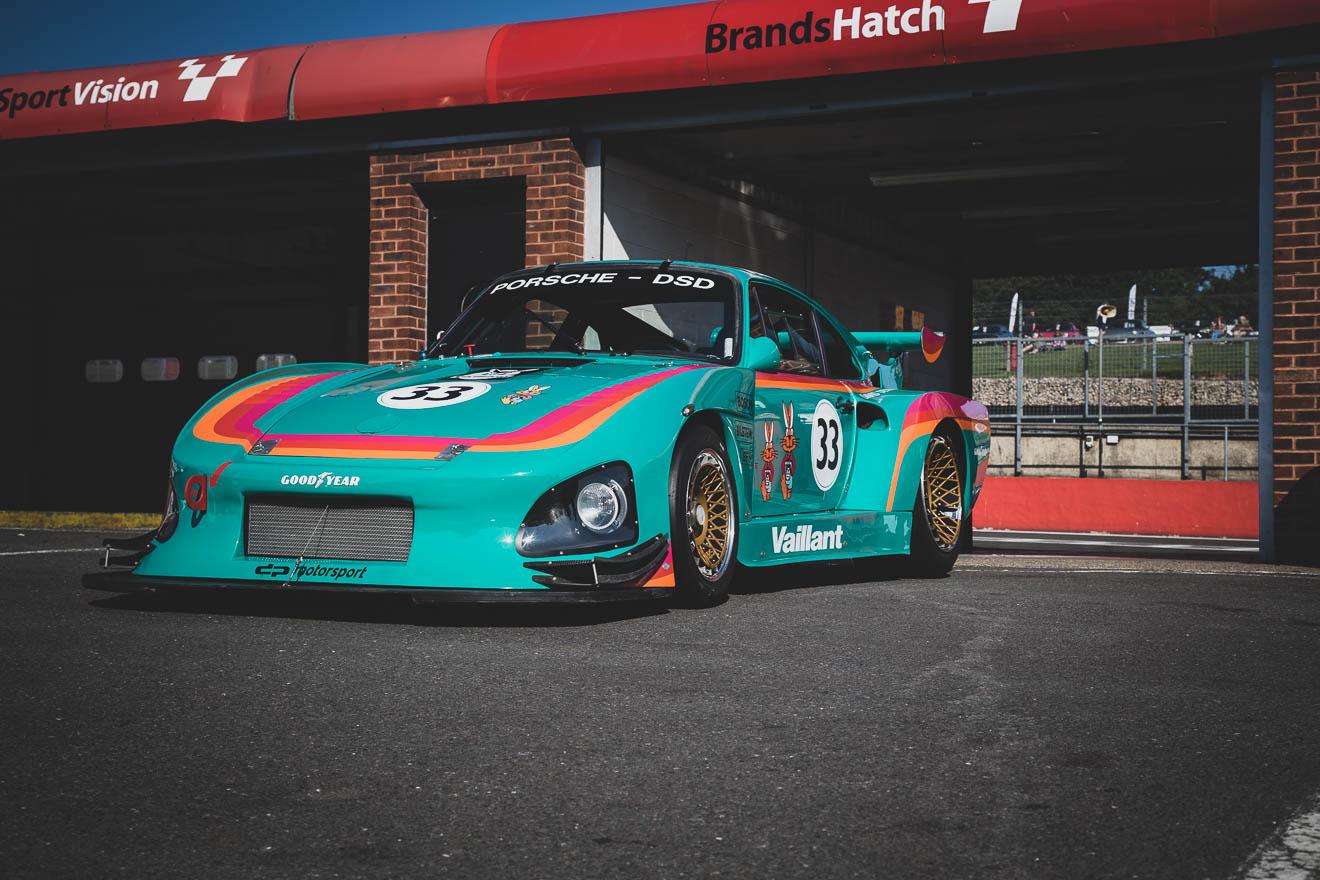 Green 1981 Porsche 935 K3