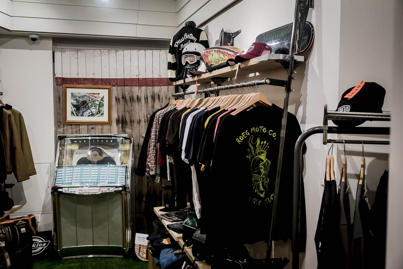 Wide range of clothing at Krazy Horse London