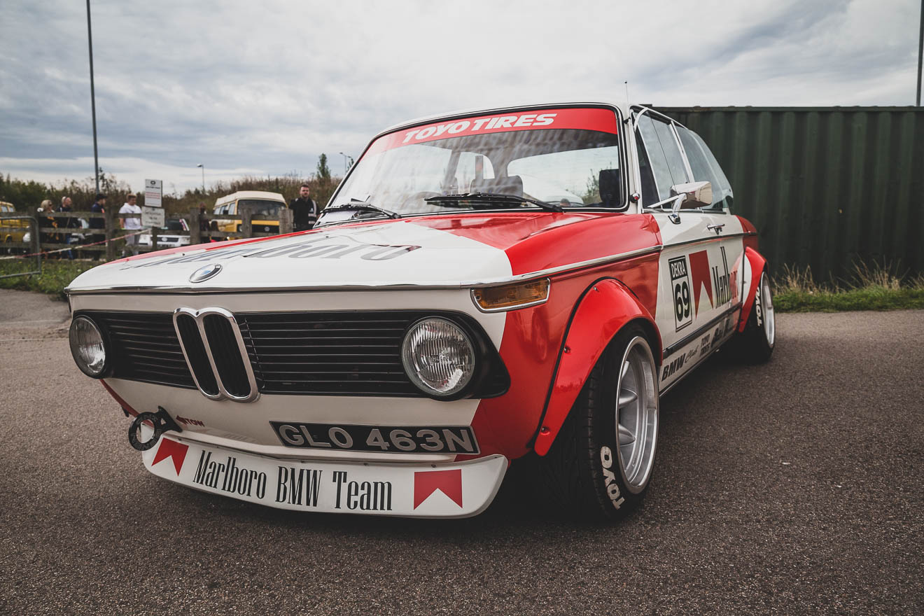 BMW 2002 race car
