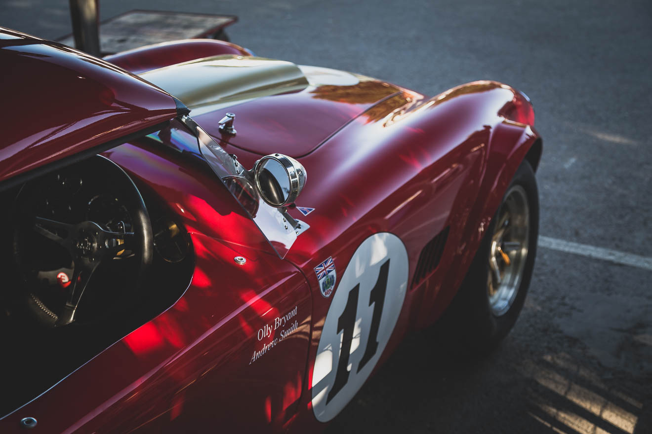 Red AC Cobra