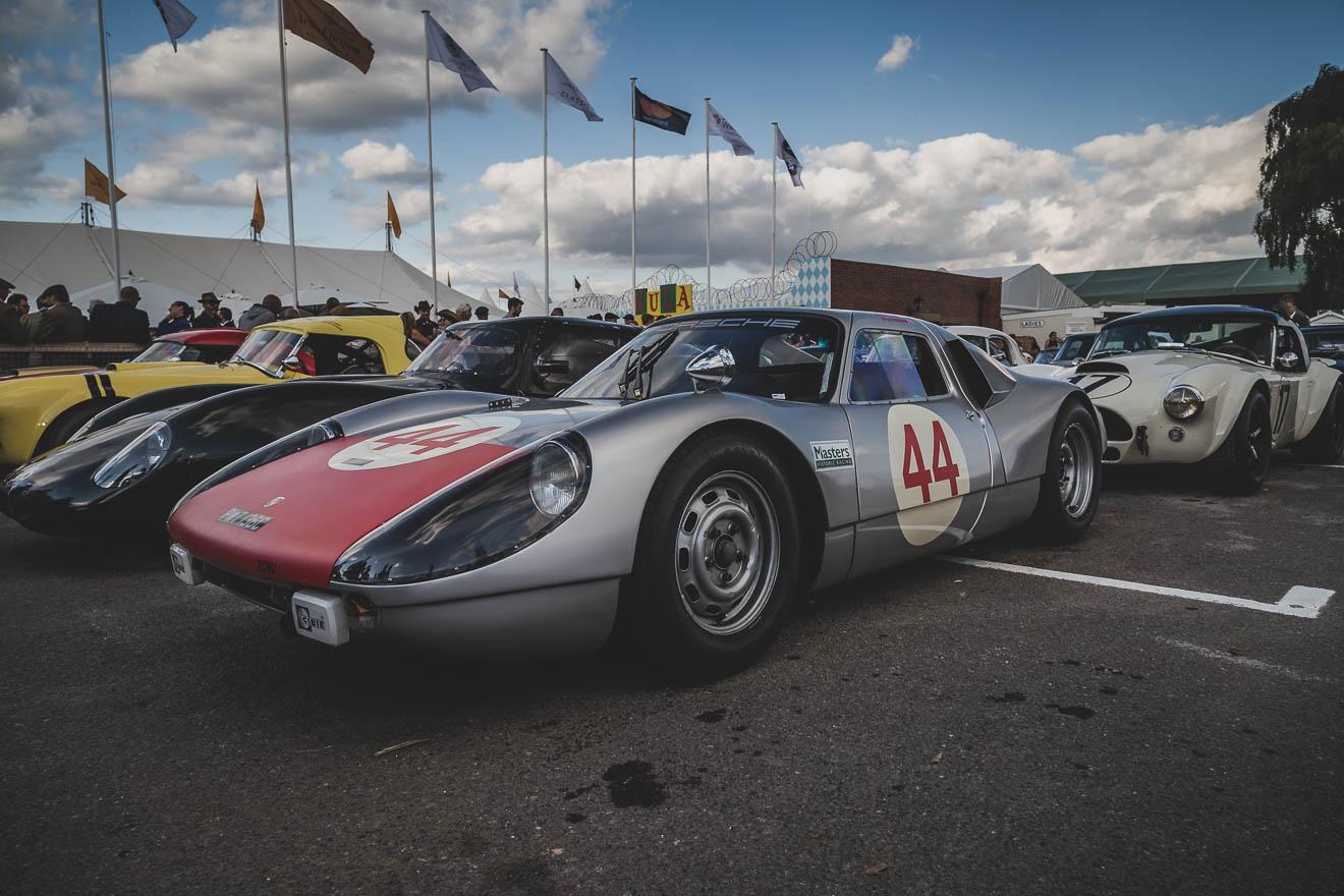 Silver Porsche 904