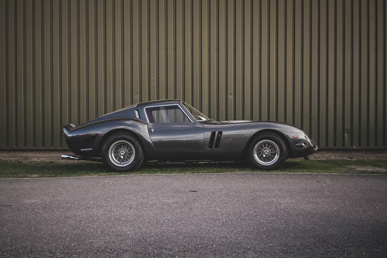 Dark grey Ferrari