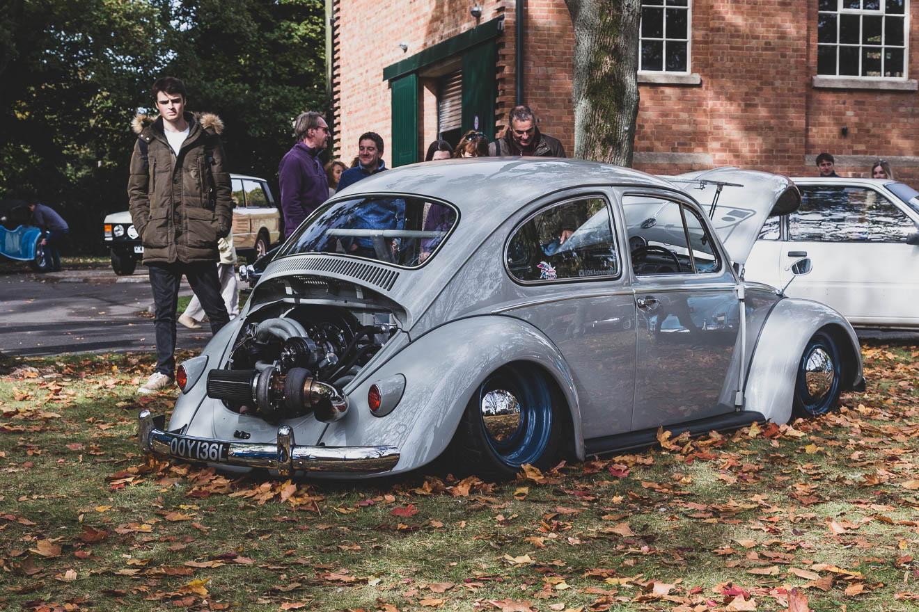 Turbo-charged Volkswagen Beetle