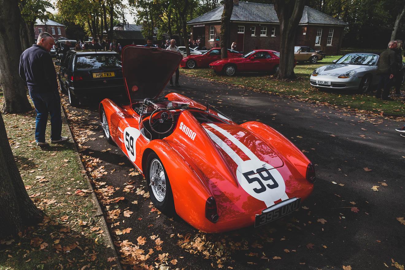 Skoda racing car