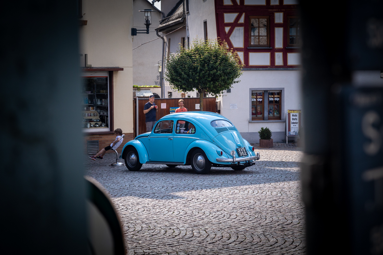 Volkswagen Oval in Bad Camberg old town