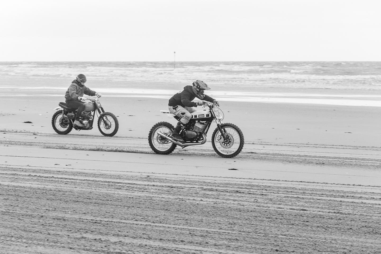 Malle motorcycle club beach race