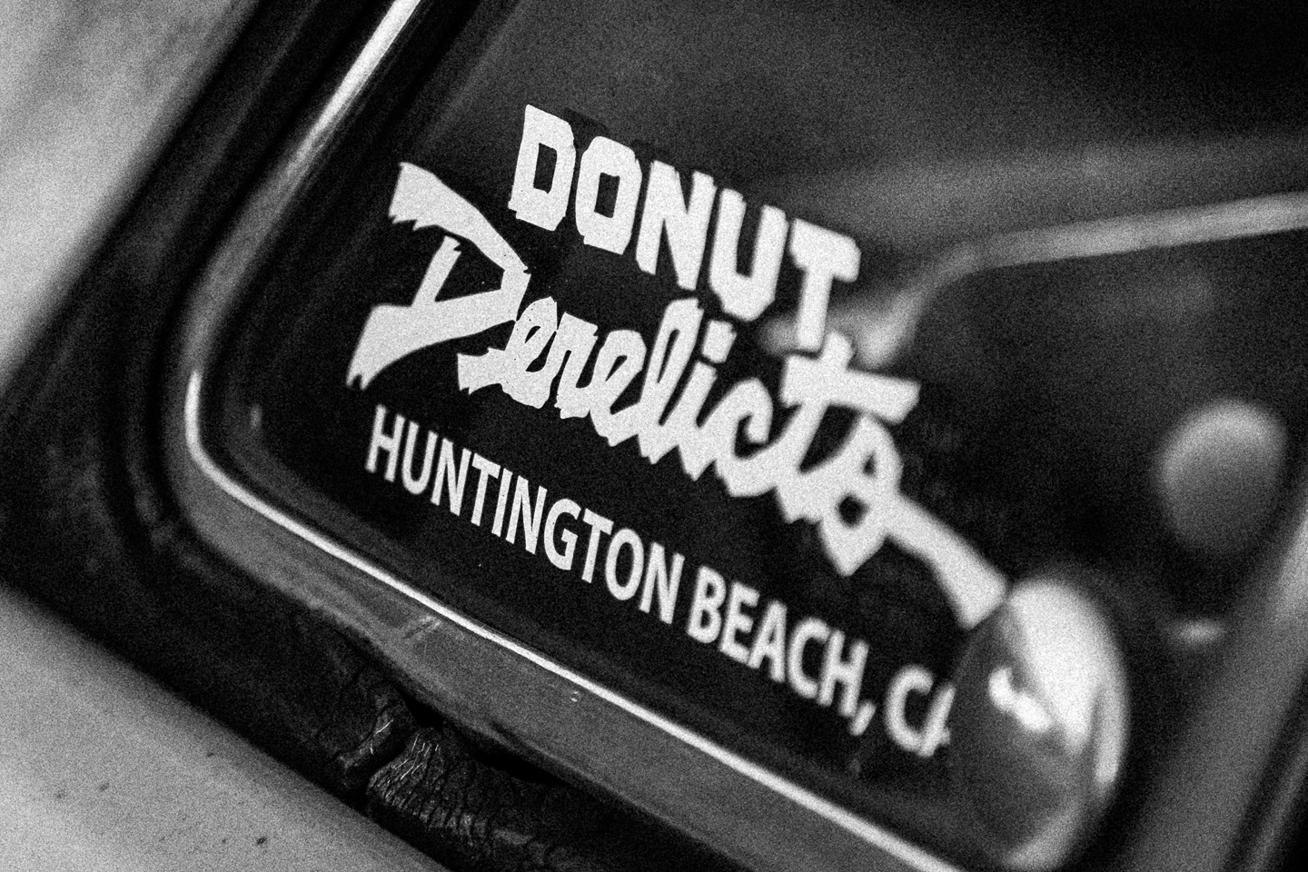 Donut Derelicts sticker