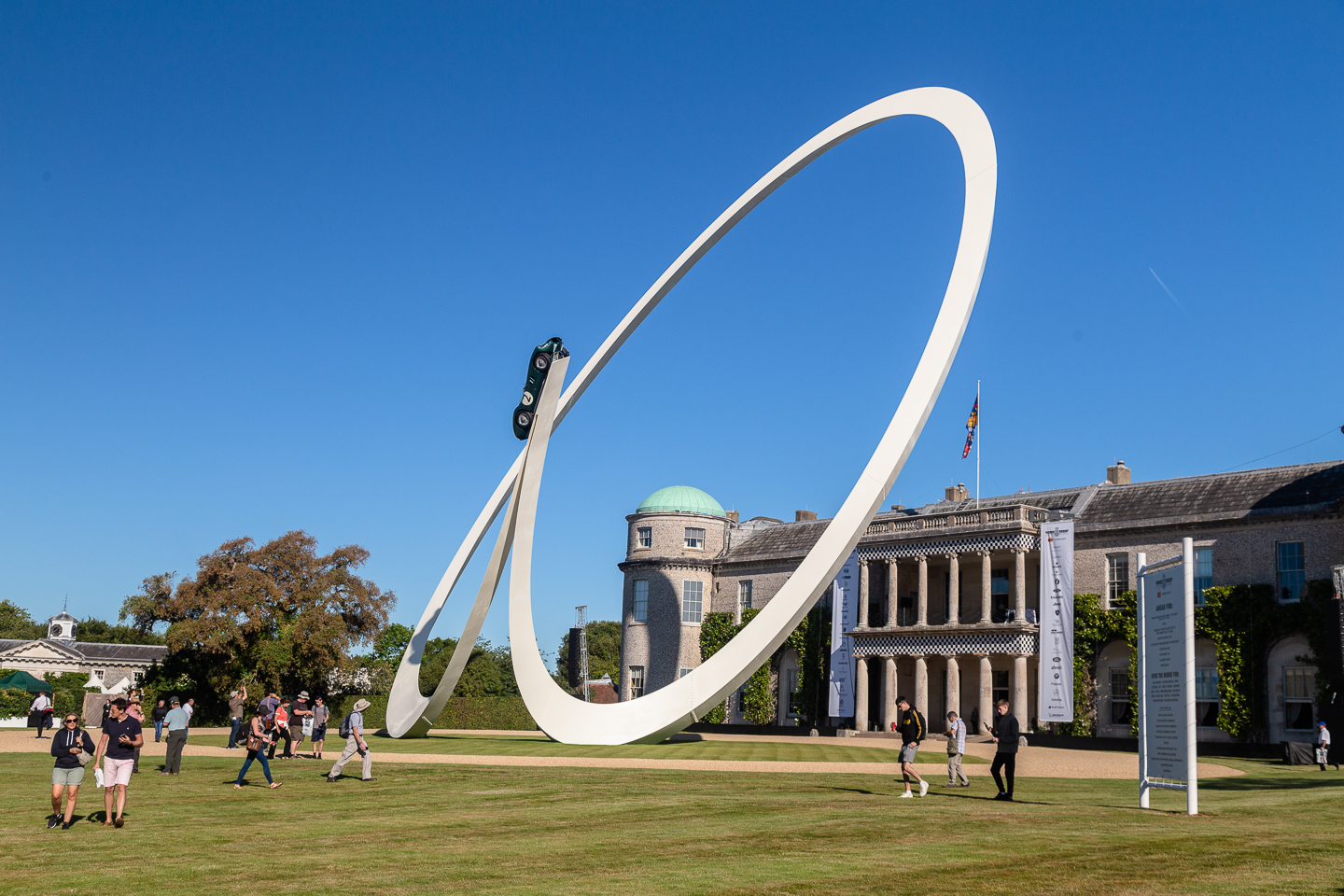 Central sculpture for 2019 Goodwood Festival of Speed