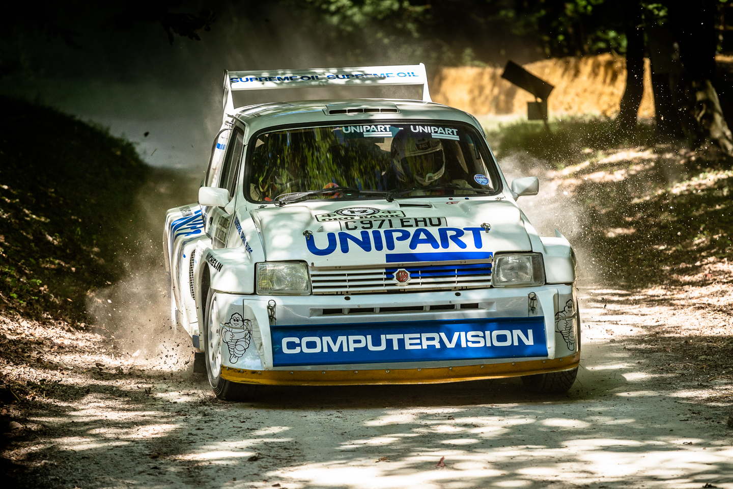 MG Metro rally car