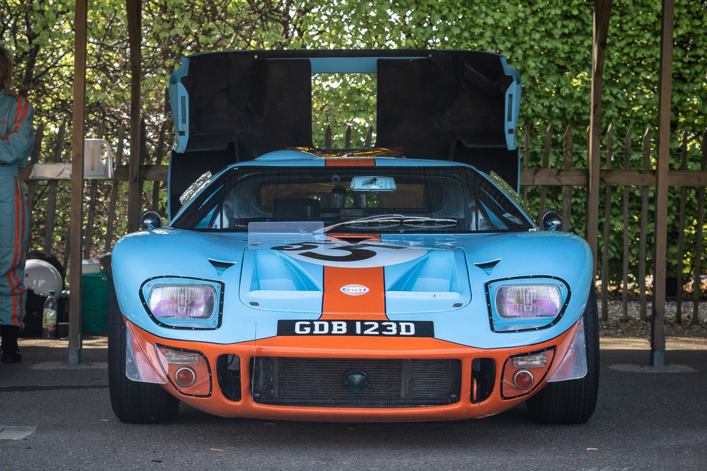 Ford GT40 in Goodwood paddock