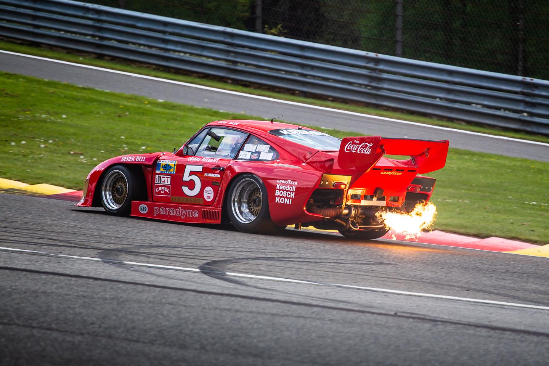 Flaming Porsche 935