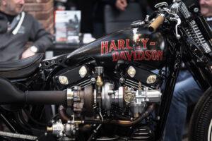Vintage turbo Harley Davidson Sportster