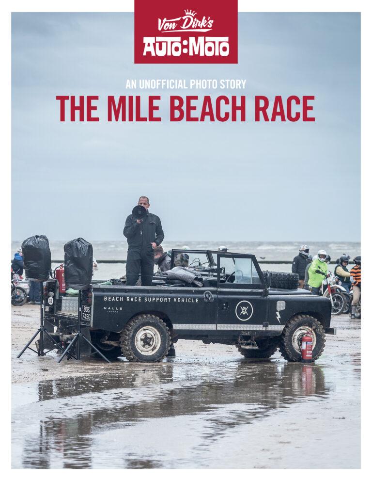 Auto Moto, Malle beach race magazine cover