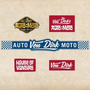 Von Dirk sticker pack